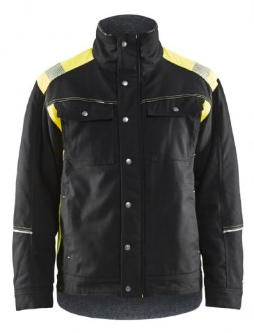 CLEARANCE Blaklader 4915 High Vis Winter Jacket - Medium